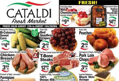 Cataldi Fresh Market Flyer August 12 to 18