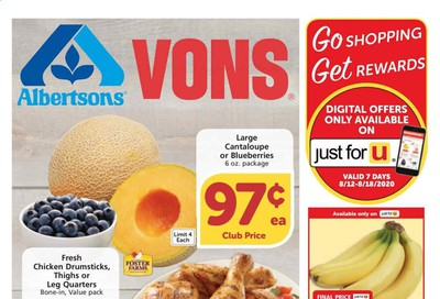 Albertsons Weekly Ad August 12 to August 18