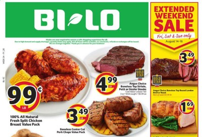 BI-LO (SC) Weekly Ad August 12 to August 18
