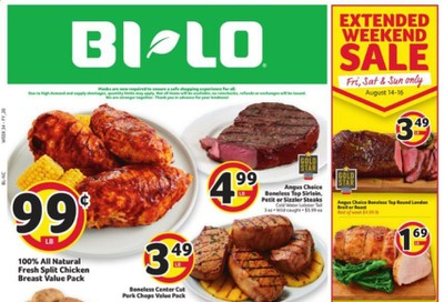 BI-LO (NC) Weekly Ad August 12 to August 18