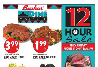 Bashas (AZ, NM) Weekly Ad August 12 to August 18