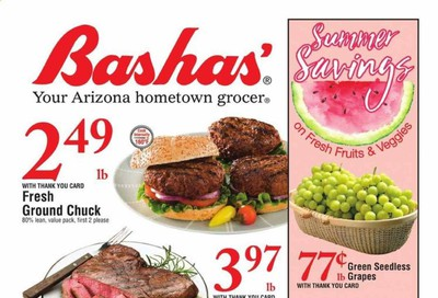 Bashas (AZ) Weekly Ad August 12 to August 18