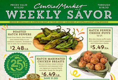 Central Market Weekly Ad August 12 to August 18
