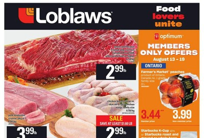 Loblaws (ON) Flyer August 13 to 19