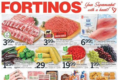 Fortinos Flyer August 13 to 19