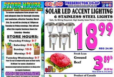 Fredericton Co-op Flyer August 13 to 19