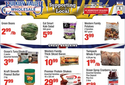 Bulkley Valley Wholesale Flyer August 12 to 18