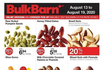 Bulk Barn Flyer August 13 to 19