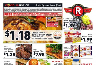 Redner's Markets Weekly Ad August 13 to August 19