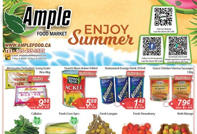 Ample Food Market Flyer August 14 to 20