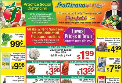 Fruiticana (BC) Flyer August 14 to 19