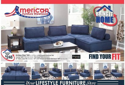 American Furniture Warehouse (CO) Weekly Ad August 16 to August 22