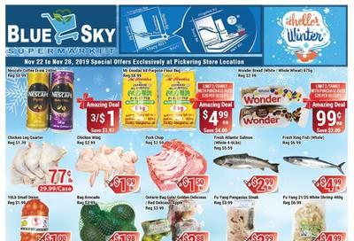 Blue Sky Supermarket (Pickering) Flyer November 22 to 28