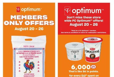 Loblaws (ON) Flyer August 20 to 26