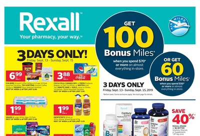 Rexall (ON) Flyer September 13 to 19