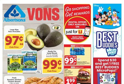 Albertsons Weekly Ad August 19 to August 25