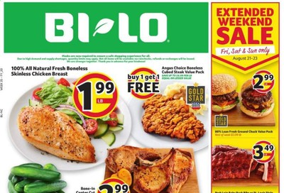 BI-LO (NC) Weekly Ad August 19 to August 25