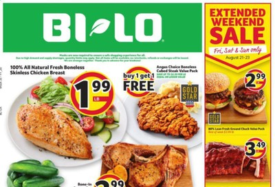 BI-LO (GA) Weekly Ad August 19 to August 25
