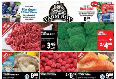 Farm Boy Flyer August 20 to 26