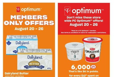 Loblaws City Market (West) Flyer August 20 to 26