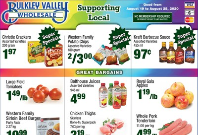 Bulkley Valley Wholesale Flyer August 19 to 25