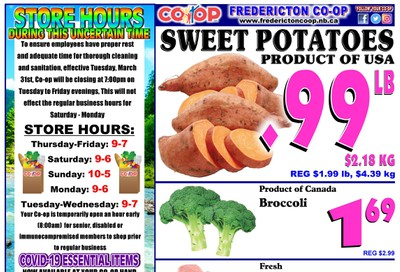 Fredericton Co-op Flyer August 20 to 26