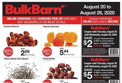 Bulk Barn Flyer August 20 to 26