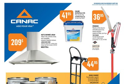 Canac Flyer August 20 to 26