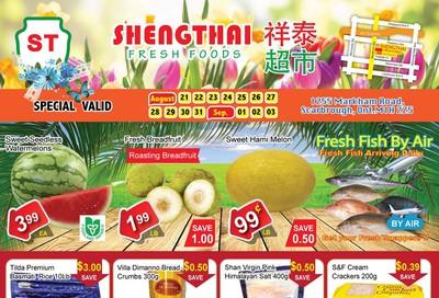 Shengthai Fresh Foods Flyer August 21 to September 3