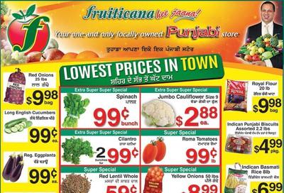Fruiticana (Calgary) Flyer November 22 to 28