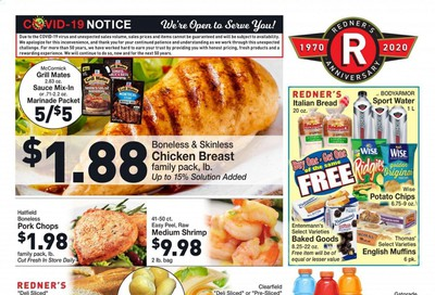 Redner's Markets Weekly Ad August 20 to August 26