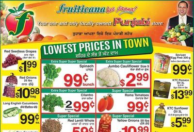 Fruiticana (Edmonton) Flyer November 22 to 28