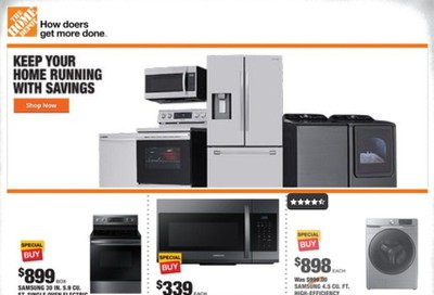 The Home Depot Weekly Ad August 20 to August 27
