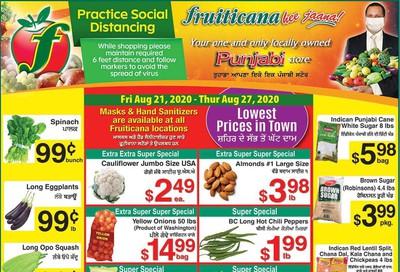 Fruiticana (Edmonton) Flyer August 21 to 27