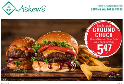 Askews Foods Flyer August 23 to 29