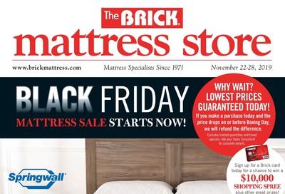 The Brick Mattress Store Flyer November 22 to 28