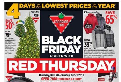 Canadian Tire Black Friday Flyer November 28 to December 1, 2019