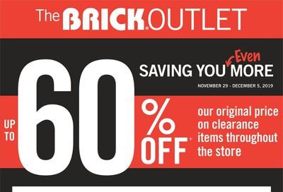 The Brick Outlet Flyer November 29 to December 5