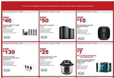 Costco (BC, AB, SK and MB) Weekly Savings November 25 to December 1