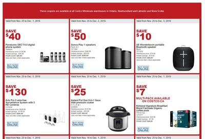 Costco (ON & Atlantic Canada) Weekly Savings November 25 to December 1