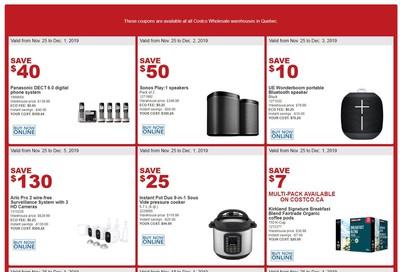 Costco (QC) Weekly Savings November 25 to December 1