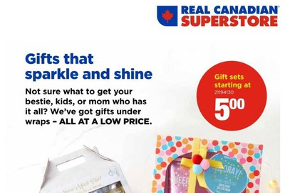 Real Canadian Superstore Holiday Beauty Book November 25 to December 25