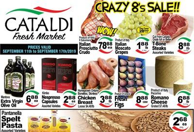 Cataldi Fresh Market Flyer September 11 to 17