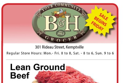 B&H Your Community Grocer Flyer November 22 to 28