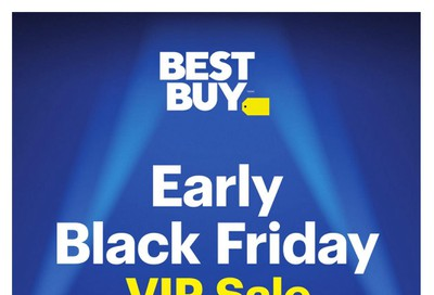 Best Buy Early Black Friday VIP Sale Flyer November 28