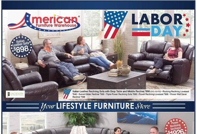 American Furniture Warehouse (AZ) Weekly Ad August 23 to August 29