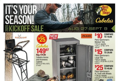 Cabela's Weekly Ad August 27 to September 9