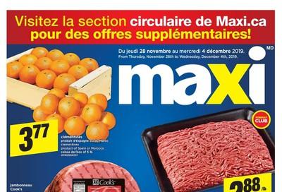 Maxi Flyer November 28 to December 4