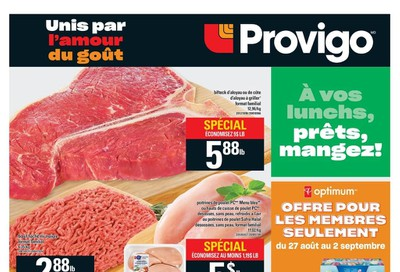 Provigo Flyer August 27 to September 2