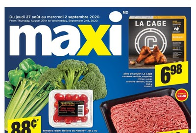 Maxi & Cie Flyer August 27 to September 2